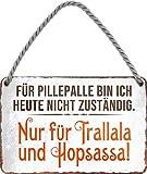 """schilderkreis24 – Blechschild Lustiger Spruch """"Für"""