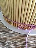 S&C 10 Stück Cake Board 30 cm, 3 mm weiß umgeschlagen beschichtet Tortenunterlage Tortenscheibe Tortenplatte