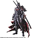 A Square Enix import Batman Timeless depicts the Dark Knight in various time periods Heavily detailed costume Depicts Batman as a samurai Includes display stand and interchangeable hand parts