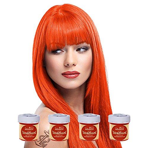 La Riche Directions Haartönung 4x 88ml (Mandarin - Orange)