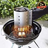 Zoom IMG-2 weber 7447 ciminiera per barbecue
