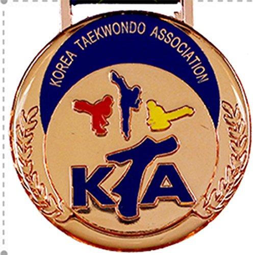 SANGA Medalla de epoxi de la asociación de Taekwondo de Corea Premio Premio Escuela de Gimnasia para Hombre Grande Bronce
