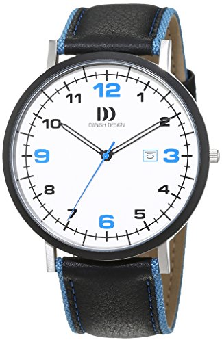 Danish Design Herren-Armbanduhr Analog Quarz Leder 3314478