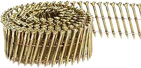 Fasco SCWC413FPEG Scrail Fastener  Fine Thread 15-Degree Wire Coil Electro-Galvanized Phillips Drive, 1.5-Inch x .113-Inch 2000 Per Box