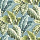Saint Honore - Papel pintado flora tropical