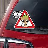 Sticker Bébé à bord ! Bébé Groot à bord! en couleur