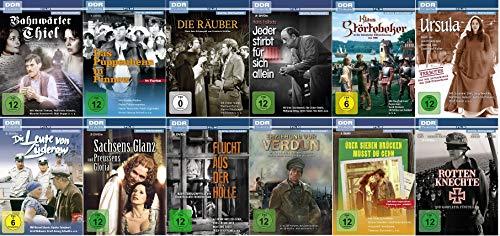 Die bekanntesten DDR TV-Archiv Filme (u.a. Sachsens Glanz und Preussens Gloria, Jeder stirbt für sich..., Die Leute v.Züderow)