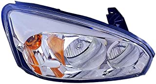 Headlight Replacement For Chevrolet Chevy Malibu|Malibu Maxx Passenger Right Side Rh 2004 2005 2006 2007 2008 Headlamp Assembly