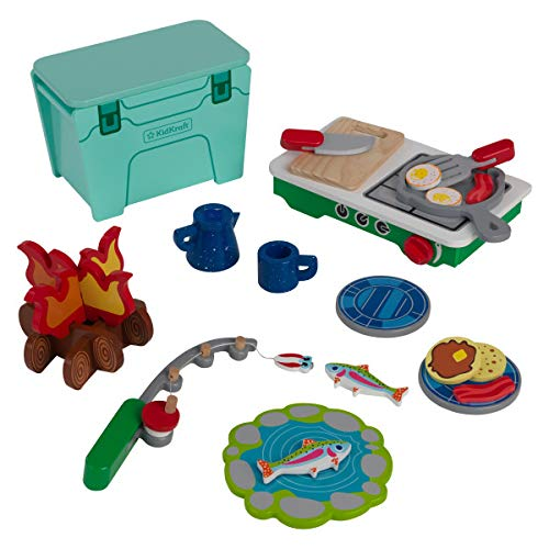 KidKraft Let's Pretend: Camping Cookout, Gift for Ages 3+