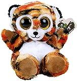 Dinotoys Tigre de peluche con ojos brillantes, aprox. 13 cm.
