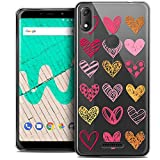 Ultra-Slim Case for 6 Inch Wiko View Max, Sweetie Doodling