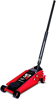 AFF American Forge and Foundry 350SS 3.5 Ton Heavy Duty Steel Quick Lift Service Floor Jack with Double Pumper
