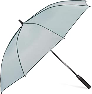 SUP-MANg Rain Umbrella Sun Protection Umbrella Anti-UV Umbrella Golf Long Handle Large Parasol (Color : Gray)