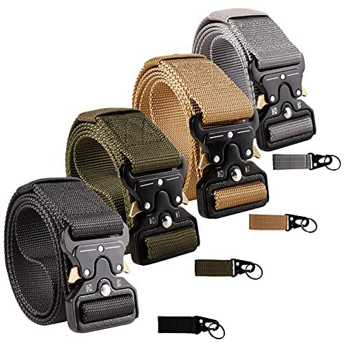 Tactical Belt,4 Pack Riggers Belts,...