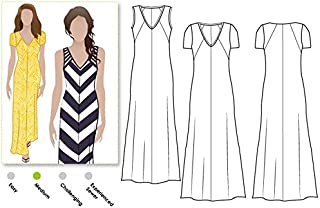 Style Arc Sewing Pattern - Jacinta Knit Dress (Sizes 18-30) - Click for Other Sizes Available