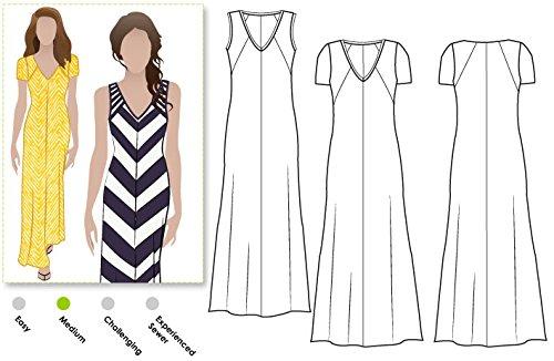 ARC Style naaipatroon - Jacinta gebreide jurk