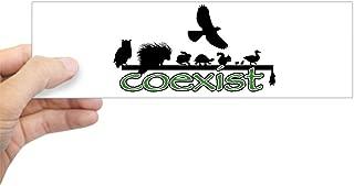 CafePress Wildlife Coexist 10