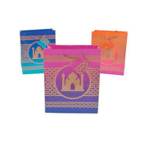 Arabian Nights Gift Bag (set of 12) EID Mubarak gift bags and Aladdin Party Supplies