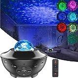 Sternenhimmel Lampe Nachtlicht Projektorlampe, ALED LIGHT Sterne Projektor Lampe Wasserwelle Licht für Zimmer Dekoration Geschenke