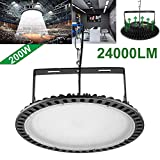 200W Slim UFO LED High Bay Light lamp Factory...