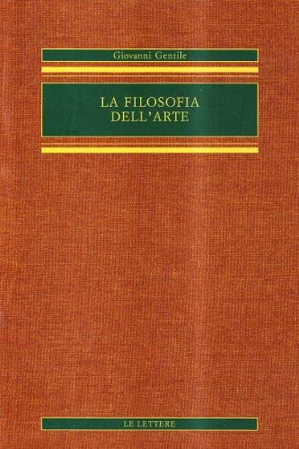 La filosofia dell'arte