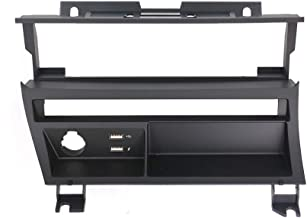 Dynavin E46 Double DIN Stereo Dash Kit Single Row Button Style for BMW 1998-2006 3-Series