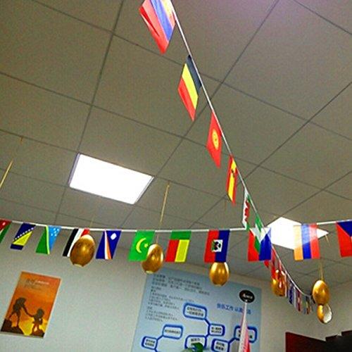 Nrpfell Bandera de Cuerdas de Top de 32 de Copa Mundial Banderas ...