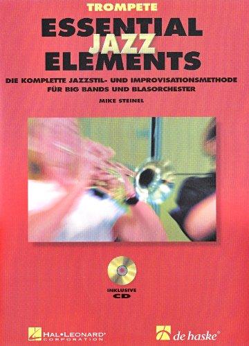 Essential Jazz Elements, für Trompete, m. 2 Audio-CDs