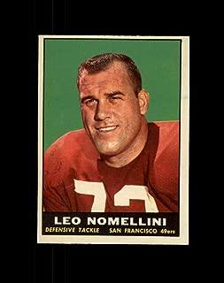 1961 Topps Football #064 Leo Nomellini STARX 6 EX/MT CS39916