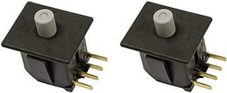 HASMX 587648401 2 Pack Safety Switch for Husqvarna Replaces YP 587648401 Cub Cadet 725-04165, 925-04165 Ferris 5101280 Husqvarna 587648401 John Deere TCA13602 MTD 725-04165, 925-04165