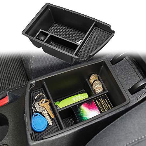 JUYTUTUS Center Console Organizer Tray Armrest Storage Box Compatible with Kia NIRO SUV 2017 2018 2019