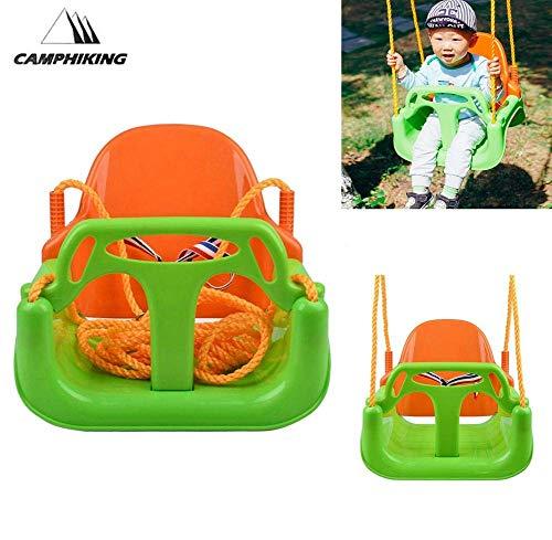 Leyue Jardín Swing Asiento Baby Baby Swing - Cuerda Colgante Swing para Swing con Safe Swing Asiento Set - Swing de Interior al Aire Libre para niños Juguetes para niños, Mejor Regalo de cumpleaños