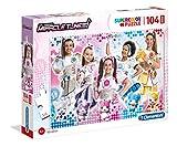 Clementoni- Supercolor Puzzle-Miracle Tunes-104 Pezzi Maxi, Multicolore, 23737