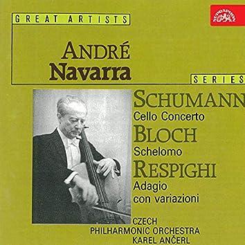 Schumann: Concerto For Cello And Orchestra / Bloch: Schelomo / Respighi: Adagio Con Variazioni