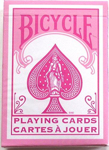 NEW Deck Rider de vélo arrière Poker cartes à jouer Rose