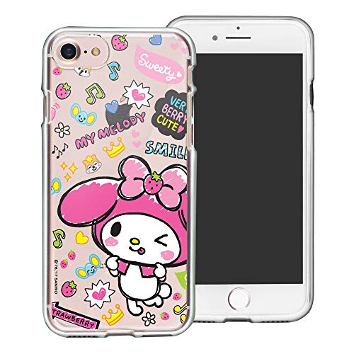 Sanrio Schutzhülle für iPhone 8 Plus/iPhone 7 Plus, Fun Jelly My Melody (iPhone 8 Plus / 7 Plus)