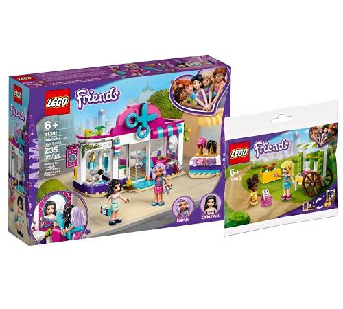 Collectix Lego Set Friends - Salón de peluquería de Heartlake City 41391 + Friends 30413 (bolsa de plástico)