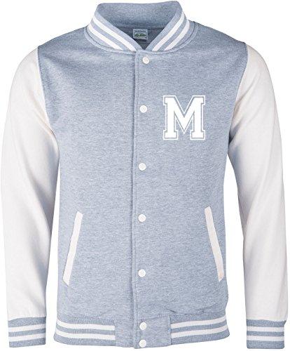 EZYshirt® Wunschinitalen Wunschnummer College Jacke für Damen   Herren   Kinder