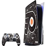 Skinit Decal Gaming Skin Compatible with PS5 Console and Controller - Officially Licensed NHL Philadelphia Flyers Frozen Design