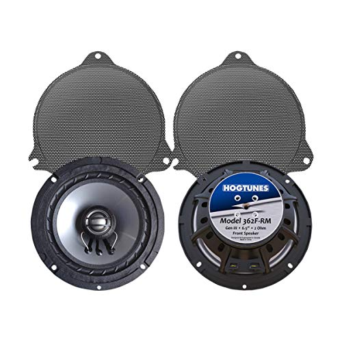 "Hogtunes 362F-RM Front Speaker (Replacement Gen 3 6.5"" for 2014-2016 Harley-Davidson Touring Models)"