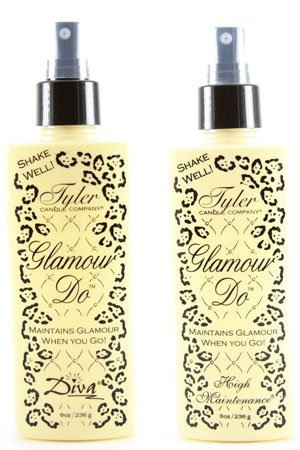 Tyler Diva Glamour Do Candle Spray (4 Oz), 4 pack
