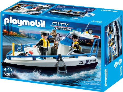 Playmobil 5263 - Zollboot