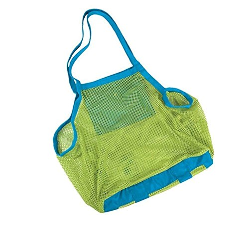 Sac fourre-tout SUNREEK en maille pour gardez vos effets et les jouets des enfants à l'abris du sable à la plage, à la piscine ou sur le bateau (grand format)