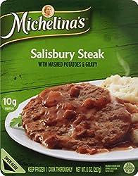 Michelina's, Salsbury Steak And Gravy Mashed Potatos, 8 oz (Frozen)