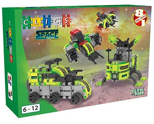 Clics BC004 Space Squad Box 8-in-1