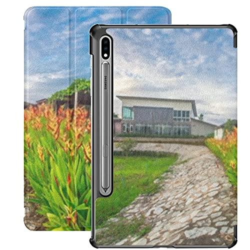Funda para Galaxy Tab S7 Funda Delgada y Ligera con Soporte para Tableta Samsung Galaxy Tab S7 de 11 Pulgadas Sm-t870 Sm-t875 Sm-t878 2020 Release,Prew Lom Chom Namrayong18 de Junio de 2019 Atmósfera