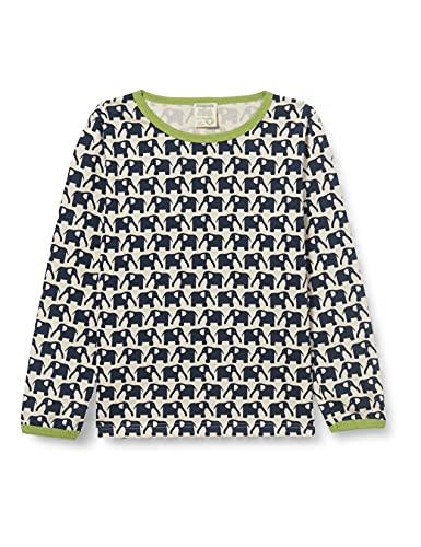 loud + proud Baby Jungen Langarm aus Bio Baumwolle, Gots Zertifiziert Sweatshirt, Blau (Marine ), 110-116 EU