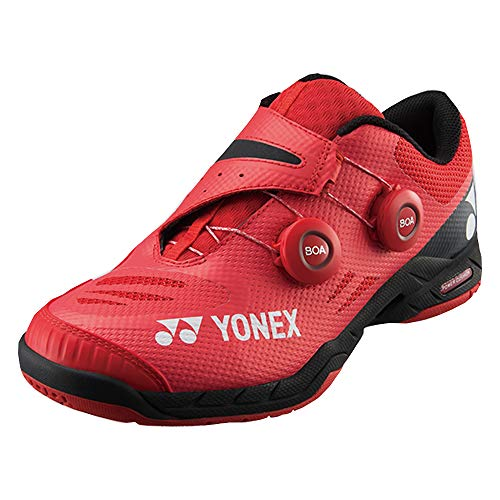Yonex Power Cushion Infinity Badmintonschuh, Rot (rot), 46 EU