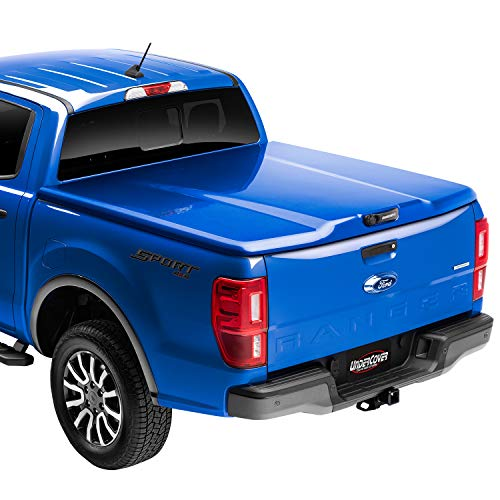 """Elite LX One-Piece Truck Bed Tonneau Cover      Fits 2016 - 2021 Toyota Tacoma 3R3 - Bright Red 5' 1"""" Bed (60.5"""") - Undercover UC4138L-3R3"""