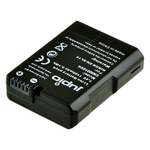 CNI0019 lithium-ion-accu, oplaadbaar, zwart.
